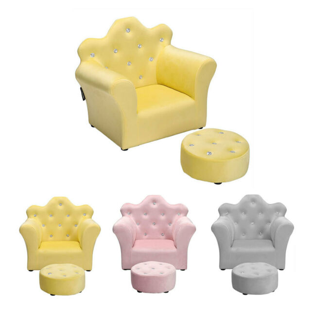 kids childrens comfy soft foam chair toddlers armchair seat nursery baby sofa