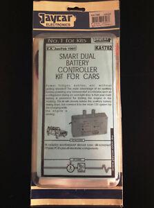 Jaycar Electronic 12v Smart Dual Battery Controller Kit EA Build your own KA1782