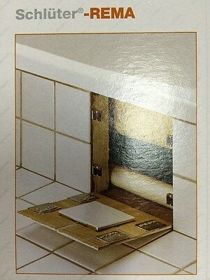schluter rema magnetic tile access panel clips 4011832001765 ebay