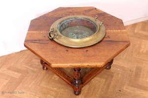 SELTEN! Tauftisch Taufbecken Oktagon Tisch 8 eckiger Tisch mit