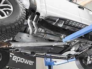 detalhes sobre afe 2017 2018 ford svt raptor catback exhaust system dupla saida lateral preto rebelde mostrar titulo no original
