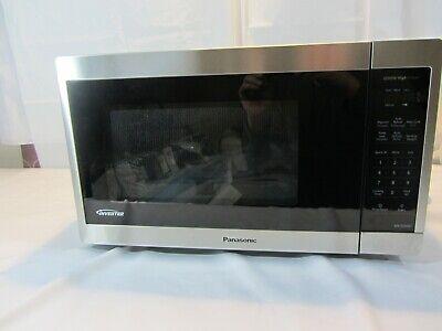 panasonic 1 3cuft stainless steel countertop microwave oven nn sc668s open box ebay