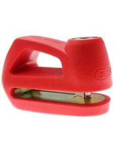 ABUS Element 285 Motorcycle Disc Lock RED Security Level 4 NEW ...