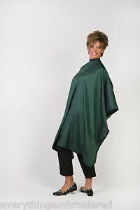 hunter green hair barber stylist waterproof nylon cutting cape personalized ltwt ebay