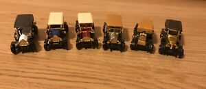 Readers Digest set of 6 vintage minature cars