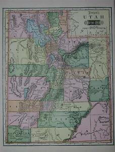 Map 110 S      Images Finder   Full Wallpapers 1904 Utah Original Color Atlas Map 110 years old eBay Image is loading 1904  Utah Original Color Atlas Map 110 years