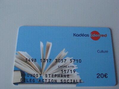 Carte Cadeau Gift Card Kadeos Endered Culture 20 Ebay