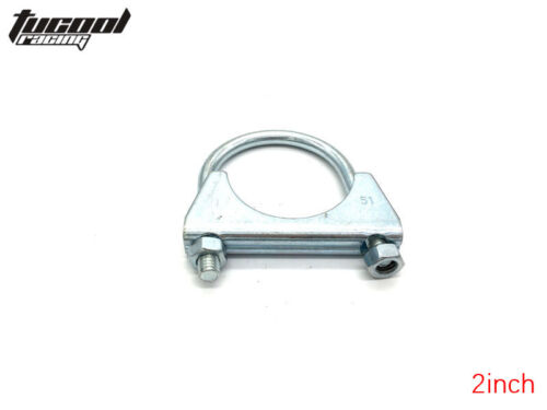 auto parts accessories 4 x 2 u bolt muffler exhaust system clamp heavy duty saddle style truck diesel auto parts and vehicles