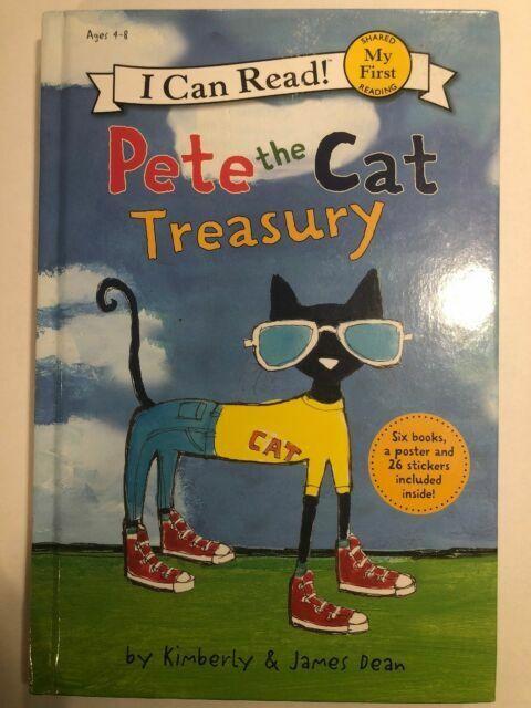 harper pete the cat treasury 6 books 26 stickers poster james dean use