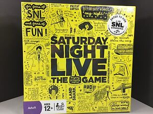 New Saturday Night Live The Game Board Game Trivia Game Sealed Package