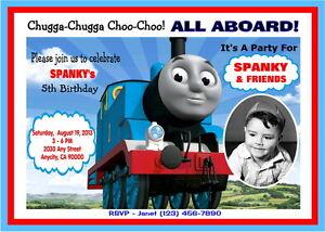 thomas the train birthday card