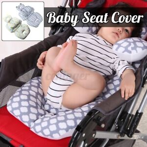details about baby stroller car cushion seat liner support pillow mat pad pram chair cover