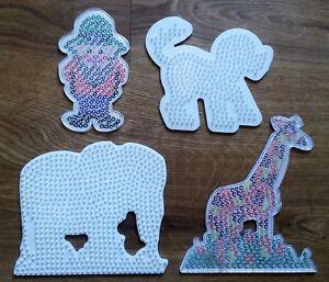 Hama 4554 Blisterpackung Grosse Stiftplatten Elefant Giraffe