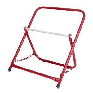 details about adirpro red portable electrical wire spool caddy foldable cable rack holder