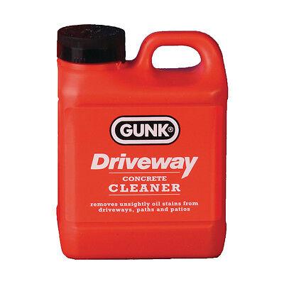 gunk driveway concrete tarmac path patio garage floor cleaner degreaser 2l 5020618068327 ebay