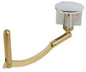 Bathtub Drain Linkage And Stopper Brass 1 34 Diameter EBay