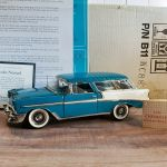 Franklin Mint Diecast 1 24 1956 Chevrolet Bel Air Nomad B11wc88 Station Wagon For Sale Online Ebay
