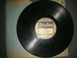 78 RPM Arthur Brown For My Sweetheart / Baby Face Vocalion G+