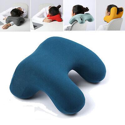 a tunnel shape arm cudding nap rest desk chair back cushion neck travel pillow ebay