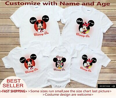 Mickey Mouse First Birthday Family Shirts Off 70 Free Shipping