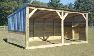 Heavy Duty Portable Horse Barn Livestock Shelter Goat Shed Sheep Shed Wood Shed EBay