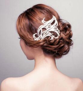 vintage bridal hair b crystal rhinestone headband hair accessories prom tiara ebay