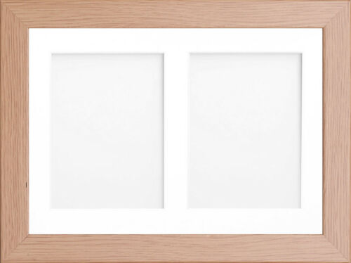 multi aperture oak photo frames | Siteframes.co