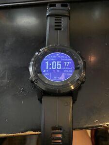 Garmin FENIX 5X PLUS Sapphire Edition Ultimate Multisport GPS Watch w/ Pulse Ox
