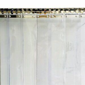 details about pvc strip curtain 1000x2000mm h 150x2mm strips plastic door curtain shop kitchen