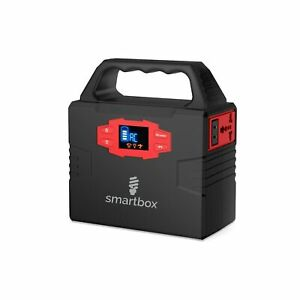 Smartbox Powerful Solar Generator –Portable Power Charging Station With Multi...