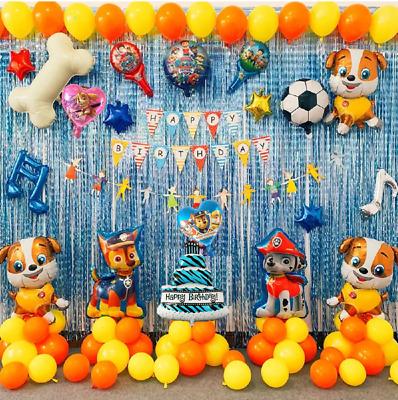 Paw Patrol Party Decorations Paw Patrol Balloons Paw Patrol Birthday Decorations Ebay