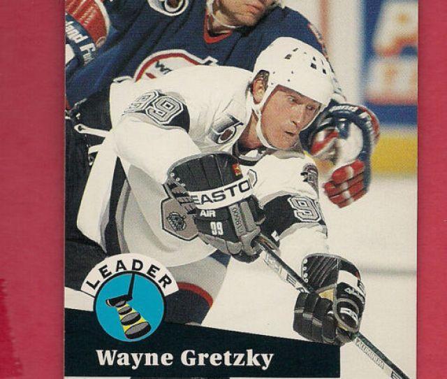 1991 Pro Set Wayne Gretzky Cc5 Hockey Card