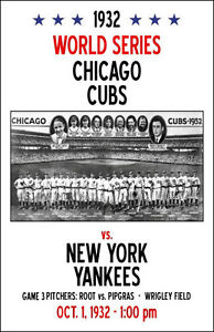details about 1932 world series poster cubs vs new york yankees buy any 2 get 1 free