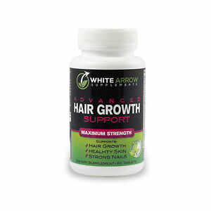 white arrow hair growth vitamin supplement with 5000mcg biotin for fast growth ebay