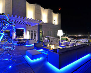 details about led penthouse lighting lights home automation under patio furniture