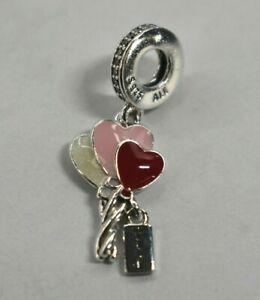 Pandora Charm New Authentic 798076cz Silver Happy Birthday Balloon Dangle New Ebay
