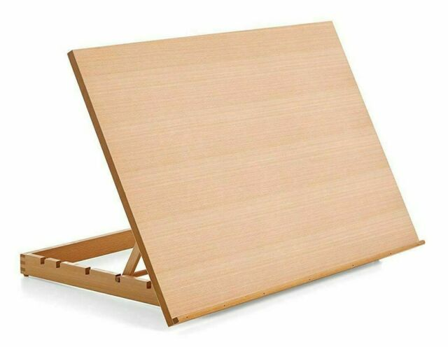 danube a2 art craft work station table wooden artist easel large drawing board