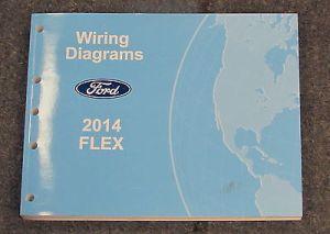 2014 Ford Flex Service Wiring Diagram Manual | eBay