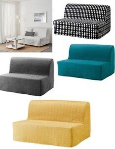 Détails Sur Ikea Lycksele Deux Siège Canapé Lit Couvre Seulement 5 Couleurs Amovible Et Lavable Neuf Afficher Le Titre Dorigine