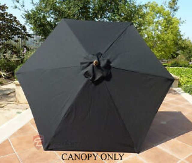 Image Is Loading 9ft Patio Garden Market Umbrella Replacement Canopy Cover