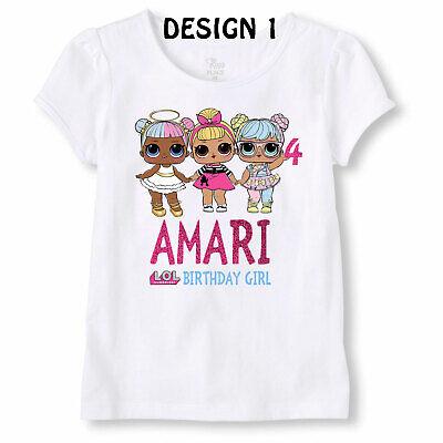 Lol Suprise Custom Birthday Shirt Personalized Lol Birthday Shirt Lol Shirt Ebay