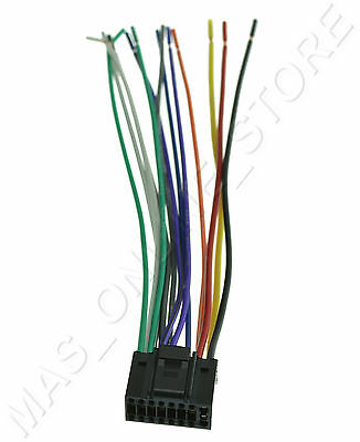 wire harness for jvc kdsr81bt kdsr81bt ships today  ebay