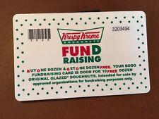 Krispy Kreme Certificates 1 Dozen For For Sale Online Ebay