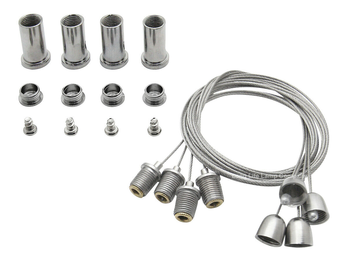 Led Panel Hanging Wires Fittings Kit For Suspended Ceiling