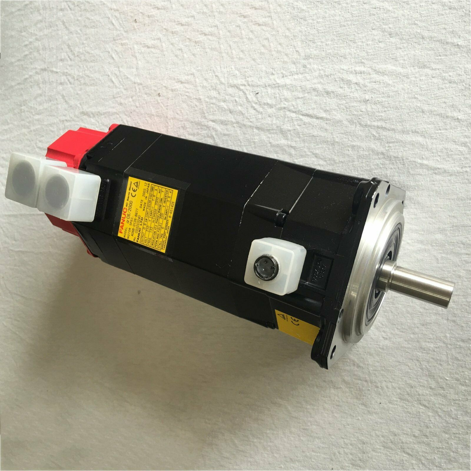 1PCS Used For Fanuc A06B-0126-B677 Servo Motor Tested in Good Condition#QW