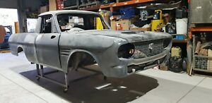 Unfinished Project mid 60'S Toyota Crown Ute.