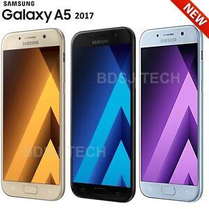 Samsung Galaxy A5 2017 (32GB) Water Resistant 4G LTE DUAL SIM Unlocked GSM A520F