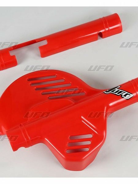 plastiche copridisco para disco anteriore honda XR 600 Ufo rosso protezione