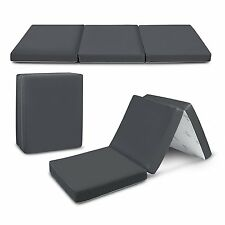 Floor Mattress Trifold Foam Folding Mattresses Mat 4 Inches Tri