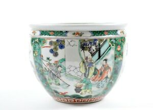 A Fine Chinese Famille Verte Porcelain Jar